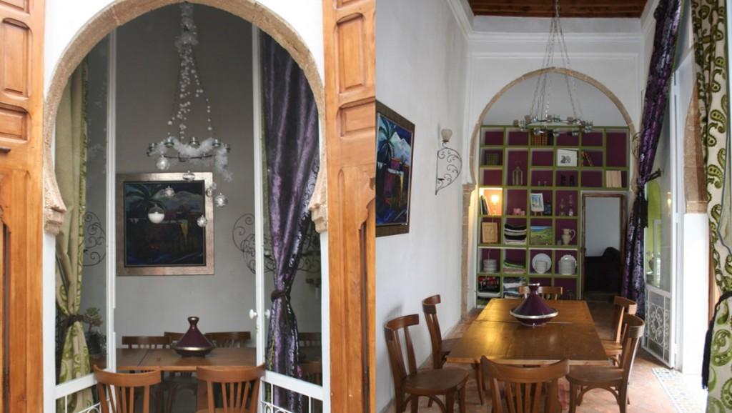 La salle manger riad rabat dar mayssane for Salle a manger kitea rabat